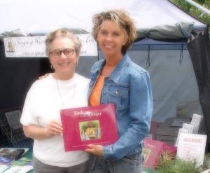 Christine (left)  w/ Singing River Publications