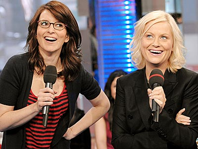 Tina Fey and Amy Polter - Improv is their gifting!