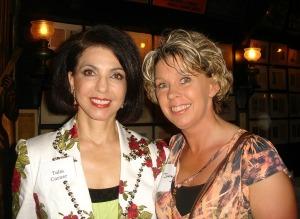 Talia Carner and me
