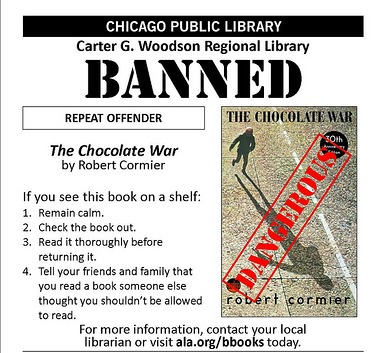 an analysis of the novel the chocolate war by robert cormier The chocolate war book summary and study guide robert cormier booklist robert cormier message board beyond the chocolate war by robert cormier.