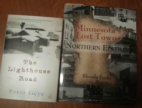 Peter Geye, Rhonda Fochs, Lighthouse Road, Book Journey, Sheila DeChantal