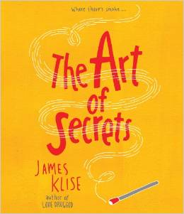The art of secrets, James Klise, Sheila DeChantal, Book Journey