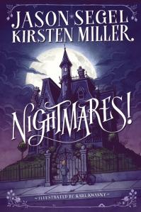 Jason Segal book, Nightmares, Book JOurney, Sheila DeChantal, book cover