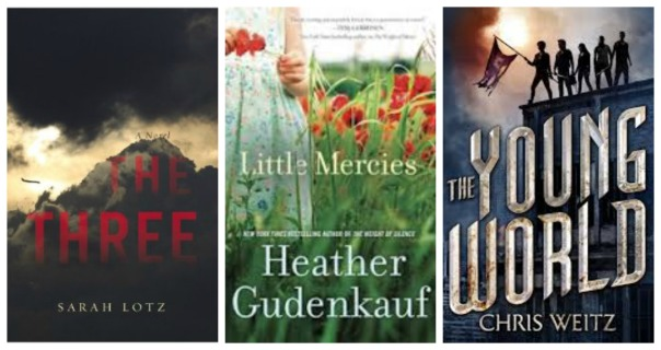 The Three, Little Mercies, The Young World, Heather Gunderkauf, Sarah Lotz, Chris Weitz, Sheila DeChantal, Book Journey