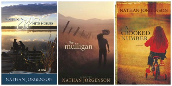 Nathan Jorgenson, Brainerd Library, Book Journey, Waiting For White Horses, Crooked Letter