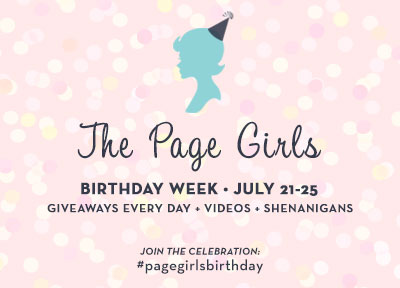 The Page Girls, Book JOurney