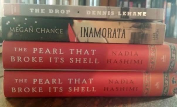 Book Journey, The Pearl That Broke Its Shell Inamorata, The Drop, Dennis Lehane, Nadia Hashimi, Megan Chance