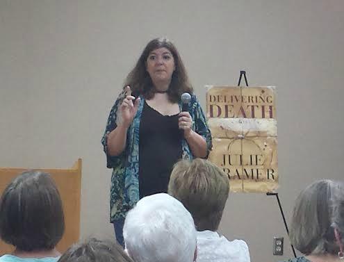Julie kramer, Book Journey, Delivering Death