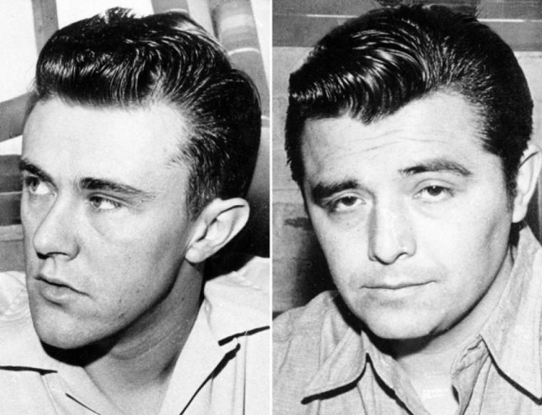 Richard Hitchcock (left) and Perry Smith were executed on April 14th, 1965 for the slaying of a Kansas family.