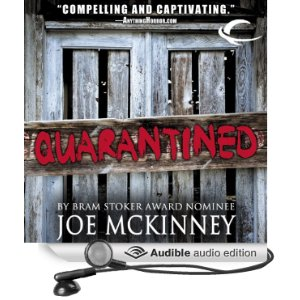 QUarantined, Joe McKinney, audio, Book Journey, Sheila DeChantal