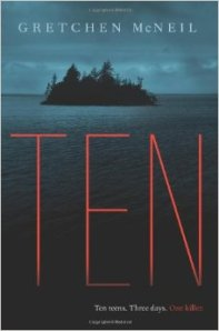 Ten, Gretchen McNeil, Book Journey, Sheila DeChantal