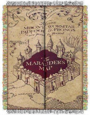 mauders map, book journey