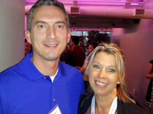 Author James Dashner and I - New York 2012