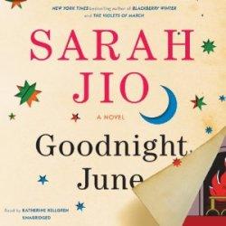 Sarah Jio, Goodnight June, Audiobook, Katherine Kellgren, Narrator, Book Journey