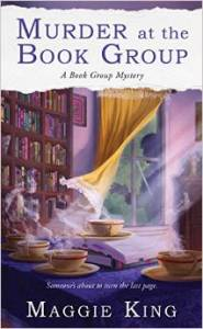 Murder at the Book Group, Maggie King, Book Journey