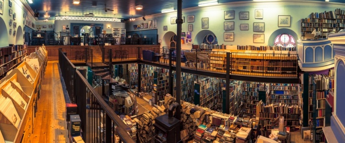 Leakey's Bookshop, Inverness, UK