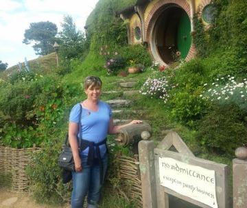Hobbiton, Bilbo Baggins, Book Journey, Sheila DeChantal
