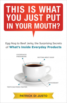That is what you put in your mouth, Patrick Di Justo, Book Journey