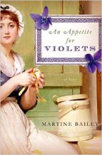 An Appetite Of Violets, Martine Bailey, Book Journey