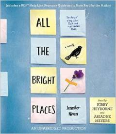 All The Bright Places, Jennifer Nivens, Book Journey