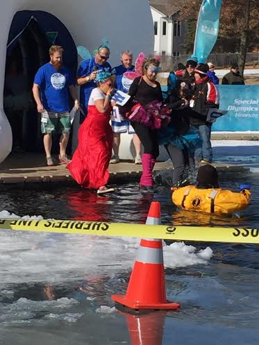 Polar Plunge, Anoka Minnesota, Sheila DeChantal, Book Journey