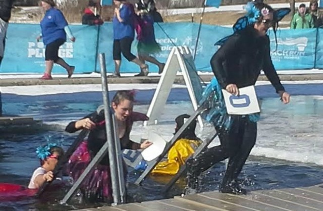 Polar Plunge, Book Journey, SHeila Dechantal, Anoka Minnesota