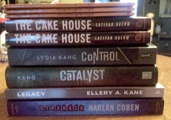 The Cake House by Lyifah Salom, Stranger Harlan Coben, Sarah Lindbergh, Lydia Kang