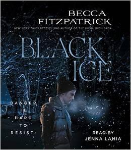 Becca Fitzpatrick, Black Ice, Book Journey, audio book, Jenna Lamia