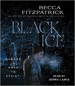 Becca Fitzpatrick, Black Ice, Book Journey, audio book, Jenna Lamia