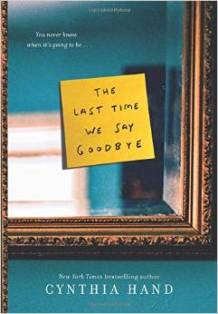 The Last Time We Say Good Bye, Julia Whelan, Cynthia Hand, Book Journey