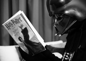 Book Journey, Harry Potter, Darth Vadar