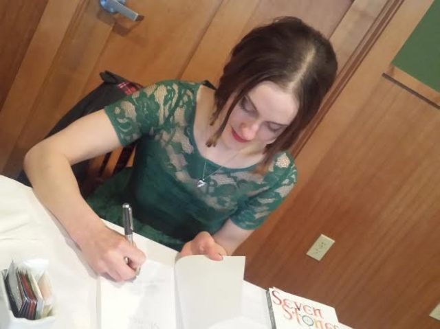 Julia Lee, Book Launch, Seven Stones, Book JOurney