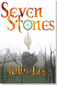 Seven Stones, Julia Lee, Book Journey, Ojibwa, Heritage, historical fiction YA
