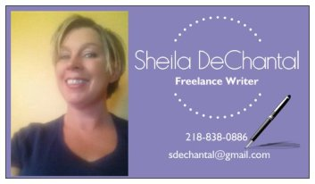 Sheila DeChantal, Freelancer, Minnesota