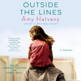 Outside the lines, Amy Hatvany, Book Journey, audio, Simon Schuster