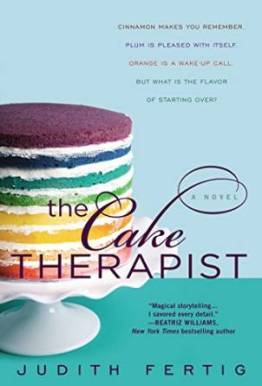 The Cake Therapist, Judith Fertig, Book Journey, June 2015 release