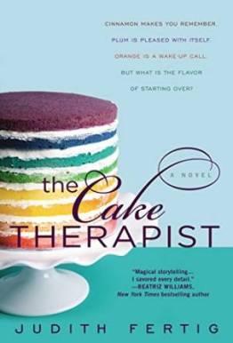 The Cake Therapist, Judith Fertig, Book Journey, June 2015 release