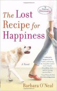 Barbara O'Neal, The Lost Recipe For Happiness, Book Journey