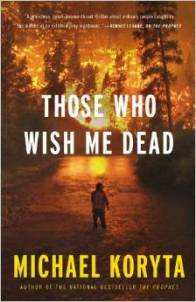 Those who wish me dead, Michael Koryta, Book Journey, audio book, audio book month, giveaway