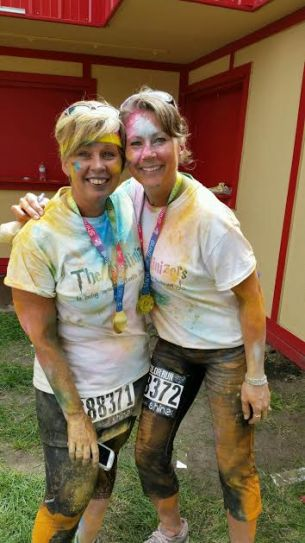 Sheila DeChantal, Amy Price, Book JOurney, Color Run St Paul