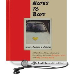 notes to boys, pamela ribson, book journey