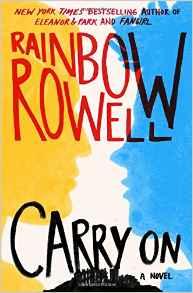 Rainbow Rowell, Book Journey, Carry On, Harry Potter, Simon Snow