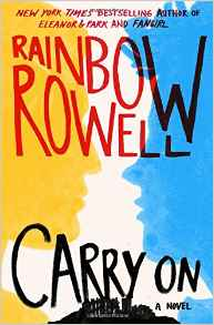 Rainbow Rowell, Book Journey, Carry On, Harry Potter, Simon Snow