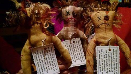 book journey, dammit dolls