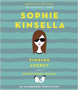 Finding audrey, sophia kinsella, book journey
