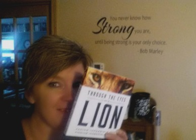 through the eyes of a lion, book journey, sheila dechantal