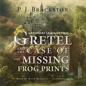 gretel and the case of the missing frog prints, p j brackston, book journey