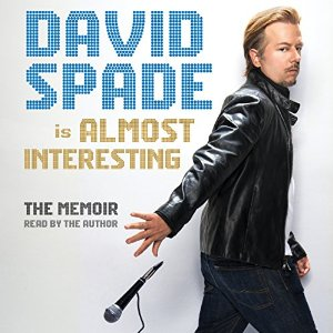 david spade, book journey, almost intersting, audio, audie awards