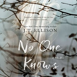 no one knows, j t ellison, book journey, review, audio
